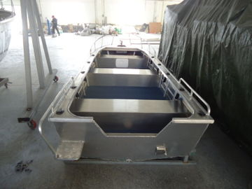 China All Welded Aluminum Fishing Boats , V Hull Fishing Boat 14 Feet SGS Listed supplier