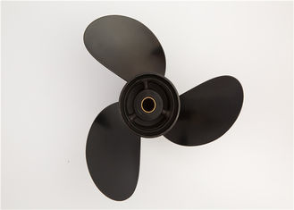 China 3b2w64517-1 Black Aluminium Boat Propellers For Tohatsu Outboard Engine supplier