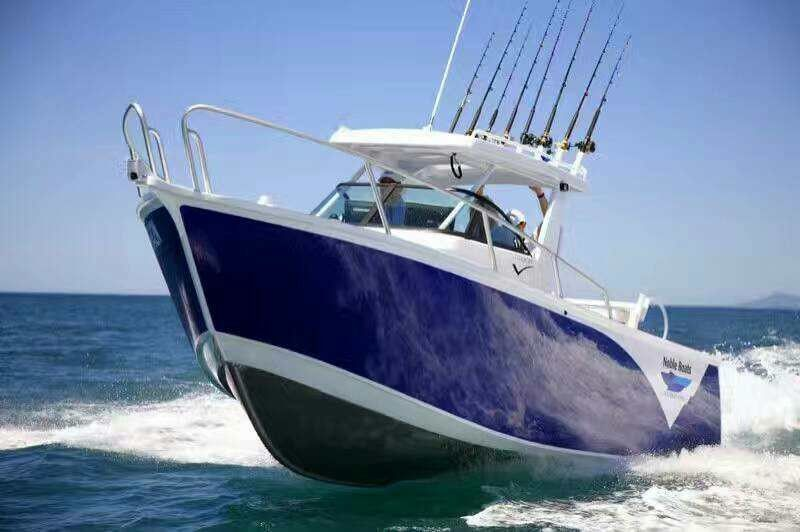 Saltwater Aluminum Fishing Boats Cuddy Cabin Boats 1 6m Height