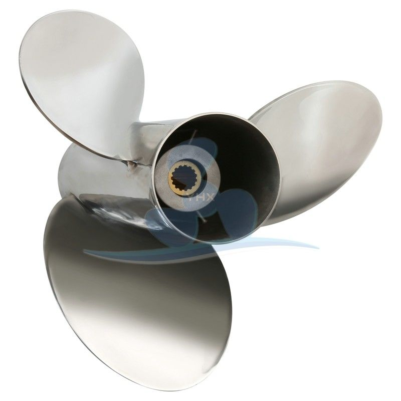 5 1/2 X 17 Pitch Stainless Steel Boat Propeller 150-300 Hp Stainless