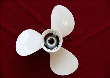 White Outboard Folding Boat Propeller Aluminum Alloy 664-45954-02-EL